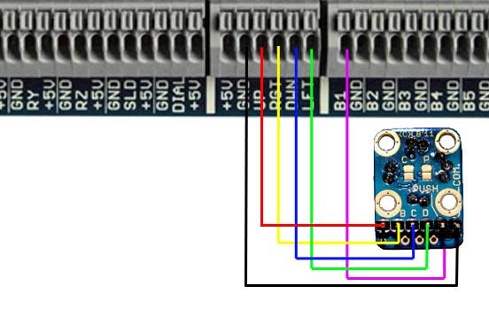BU0836X 12-Bit Joystick Board [BU0836X] - 49 99GBP : Leo