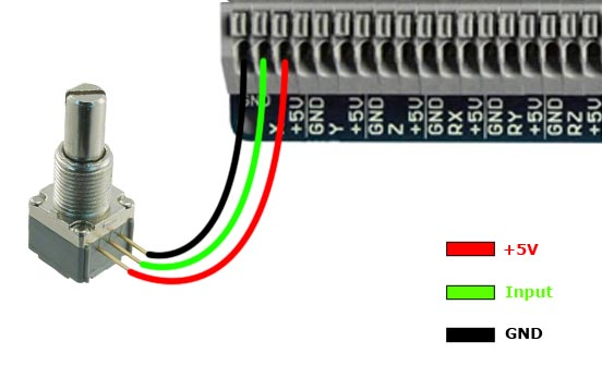 BU0836X 12-Bit Joystick Board [BU0836X] - 49.99GBP : Leo Bodnar ...