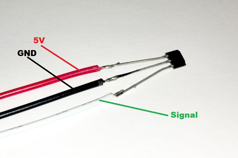 Board Mount Hall Effect 5 pieces Magnetic Sensors 2.5-38V Ana Bipolar Hall Effect Sensor